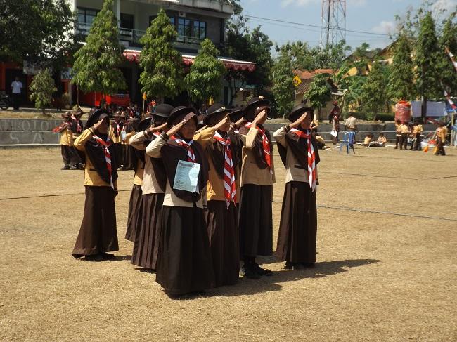 Tim LBB Putri Kemda II JSIT Korda Wonogiri 2017