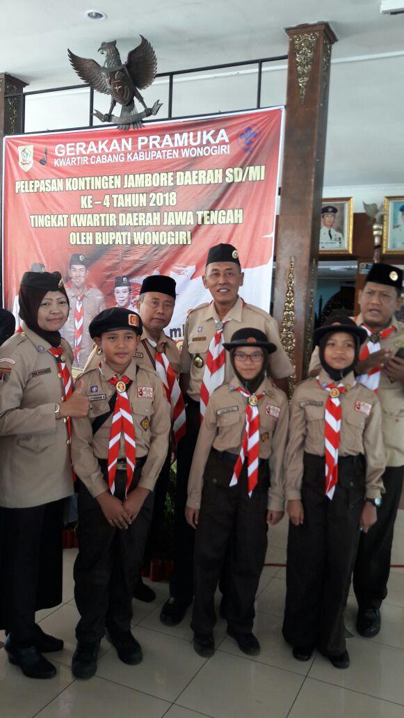 Tiga Siswa SDIT Nurul Iman Mengikuti Jambore Daerah SD/MI ke-4 Kwartir Daerah Jawa Tengah