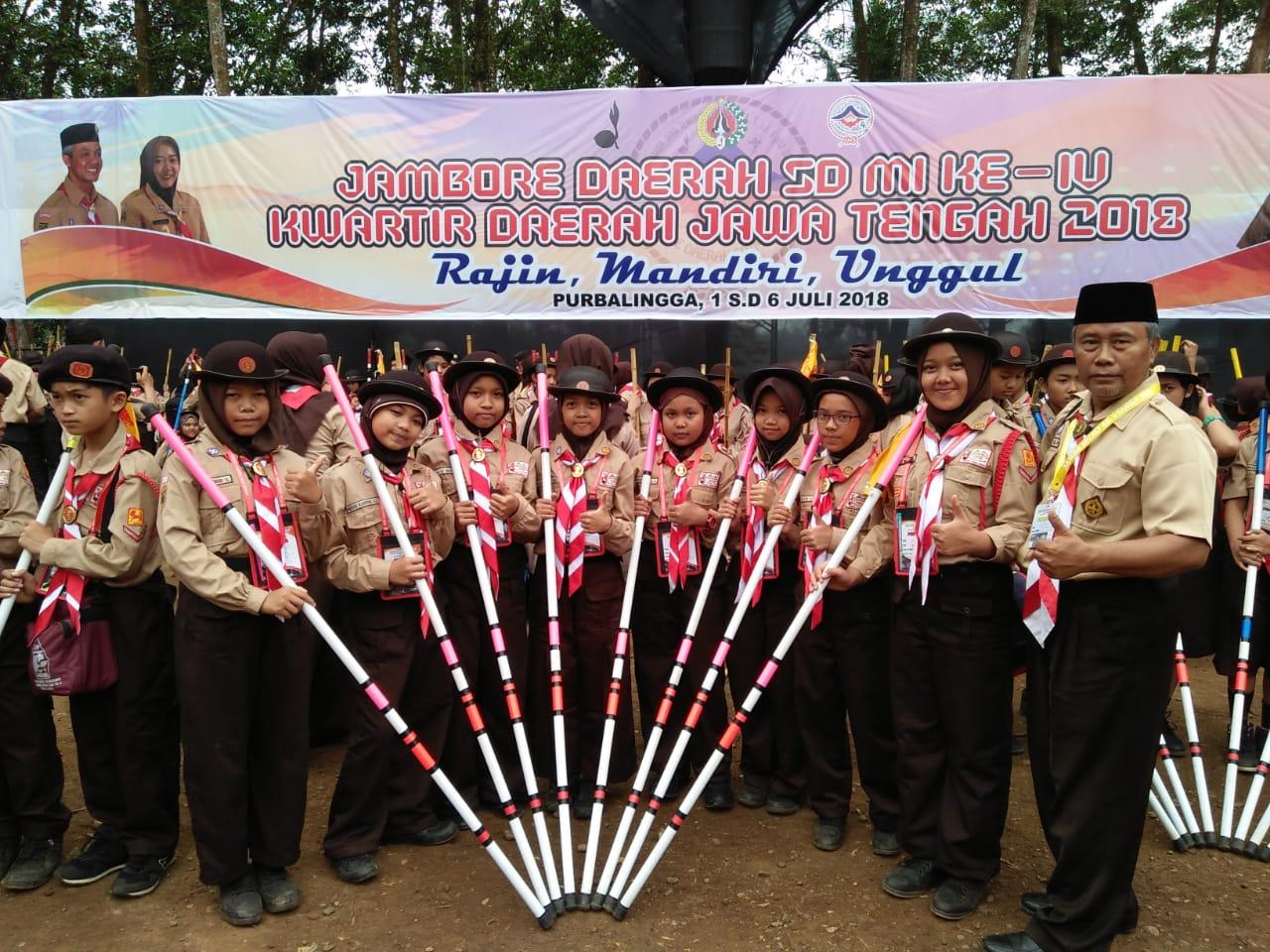 Jambore Daerah ke-4 di Kabupaten Purbalingga