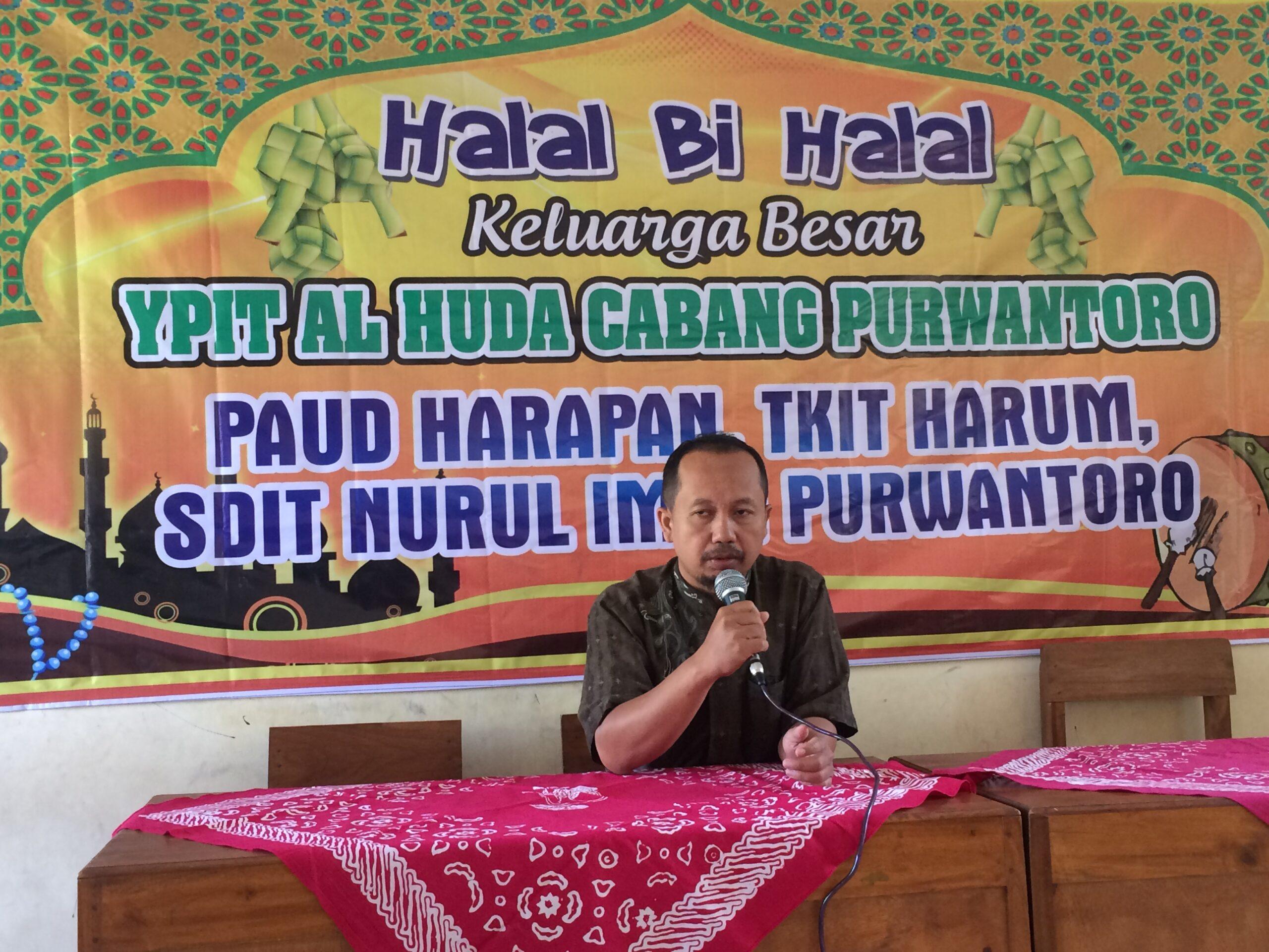 Halal bi halal Keluarga Besar YPIT Al Huda Wonogiri Cab. Purwantoro