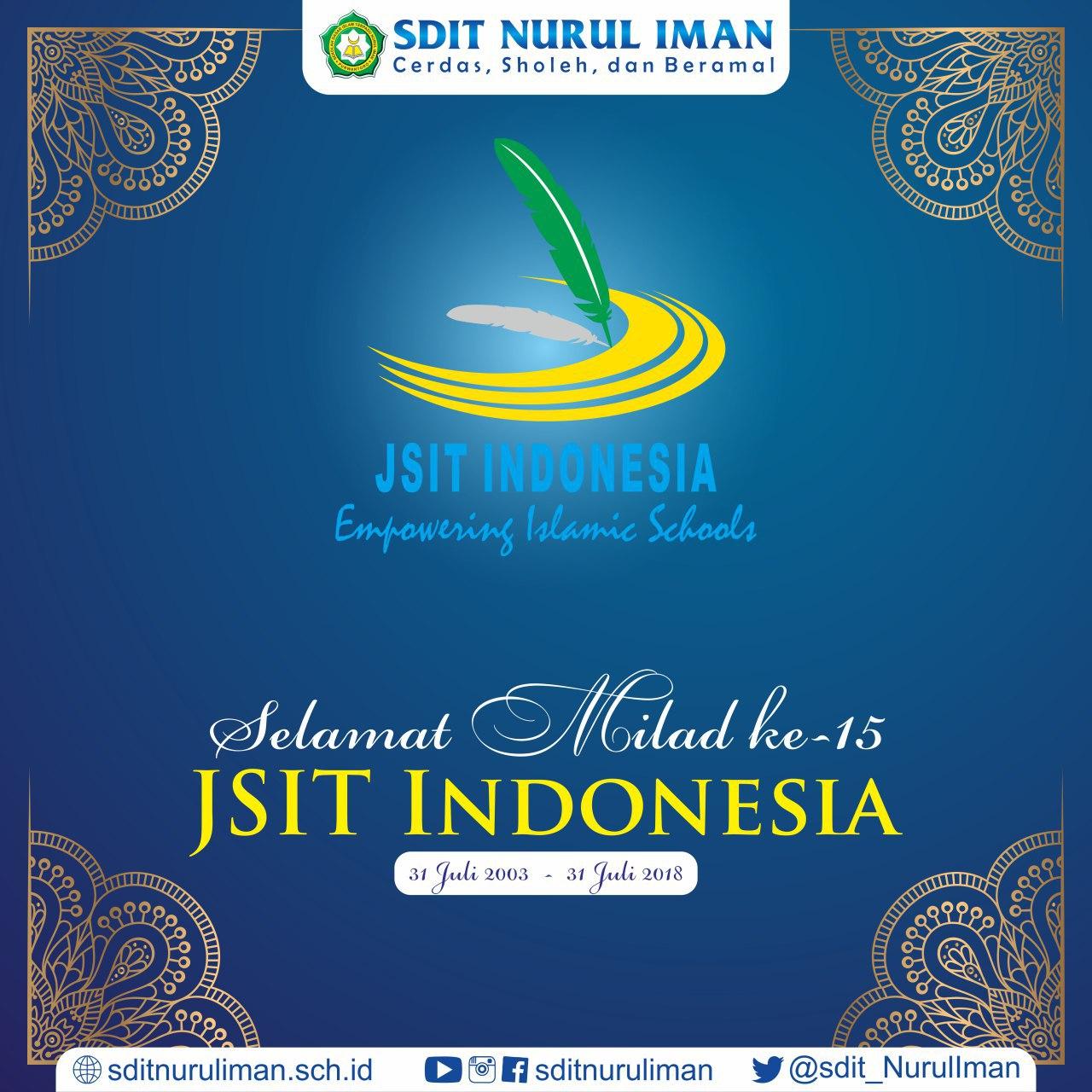 Milad ke-15 JSIT Indonesia