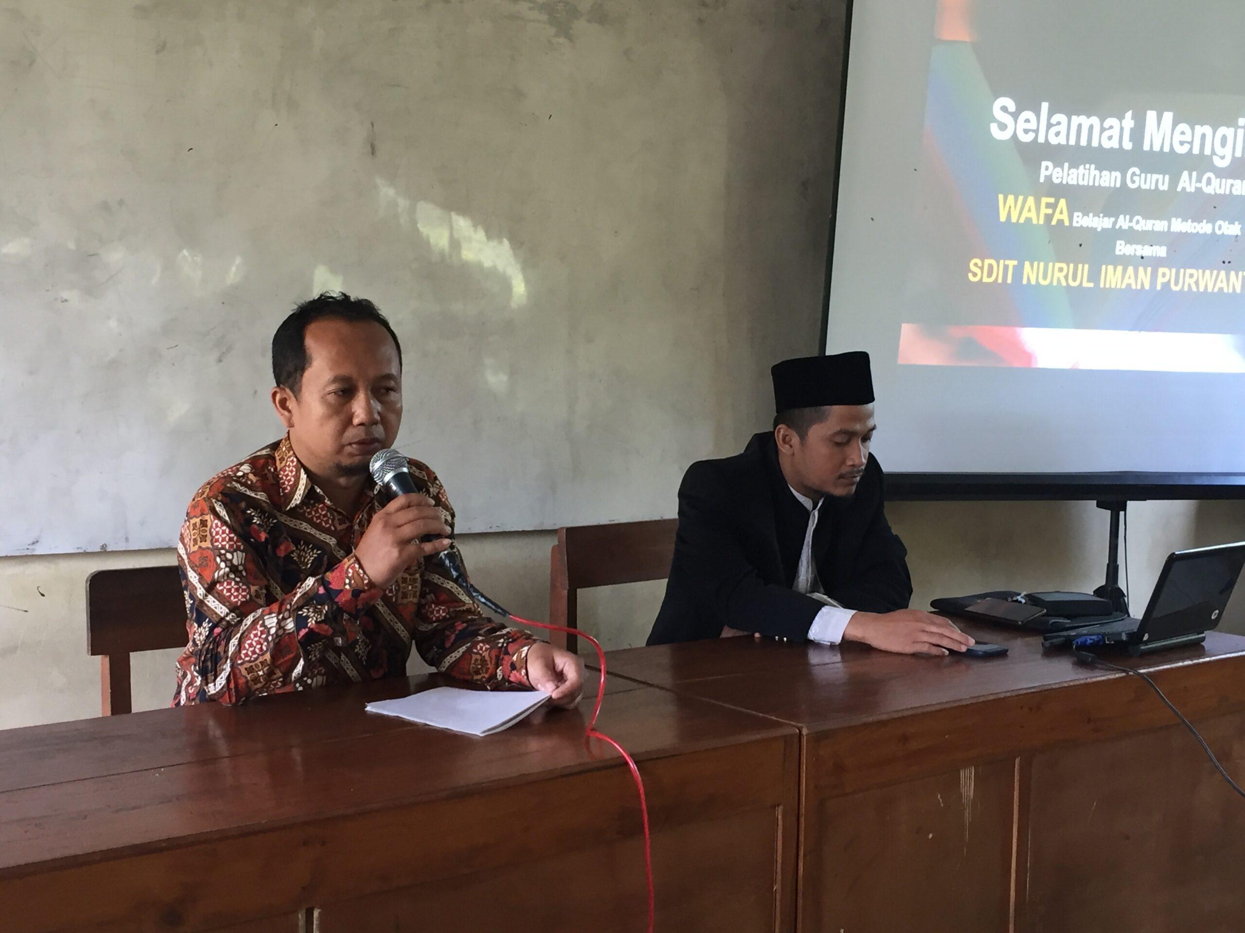 Upgrading Guru Al-Quran YPIT Al Huda Wonogiri Cabang Purwantoro