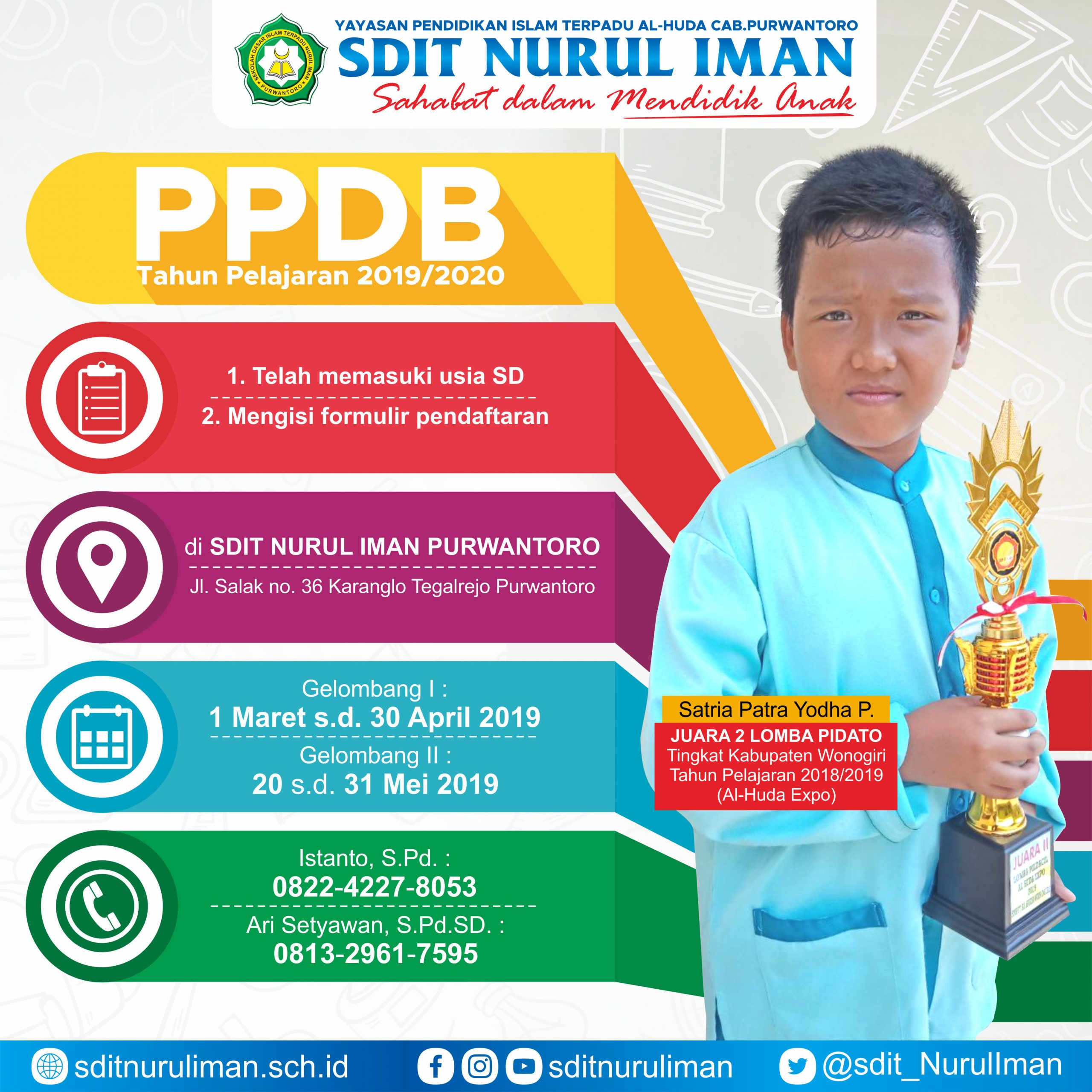 PPDB Tahun Pelajaran 2019/2020