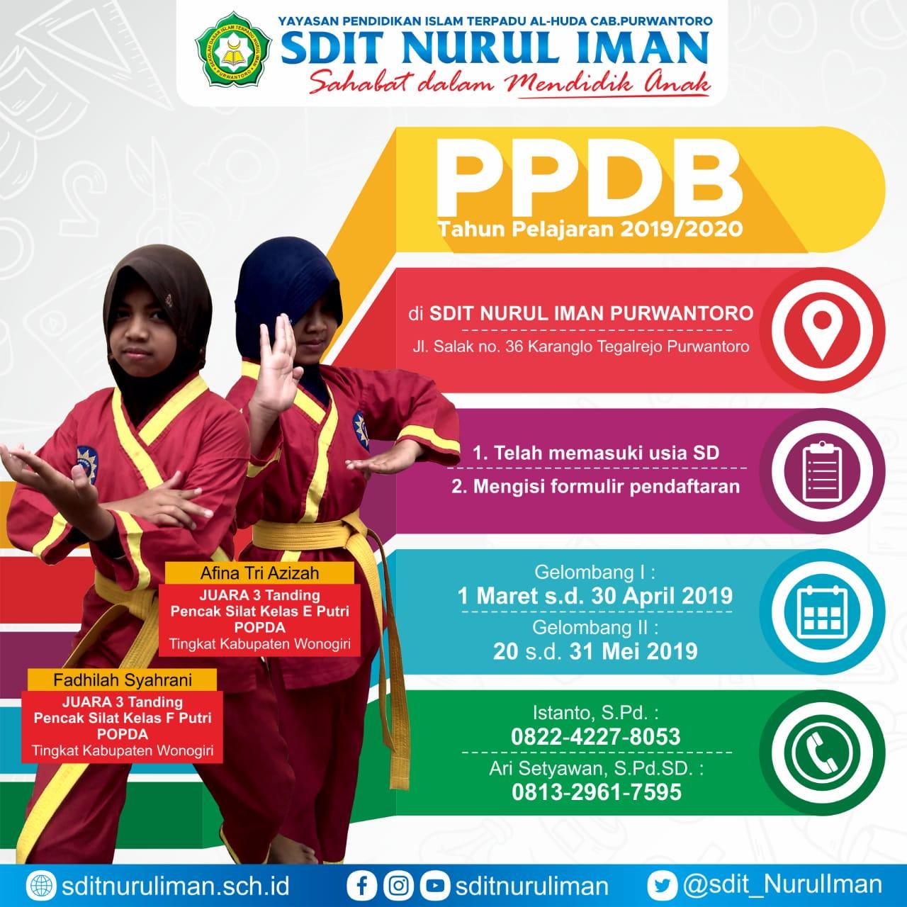 Ayo Sekolah ke SDIT Nurul Iman Purwantoro