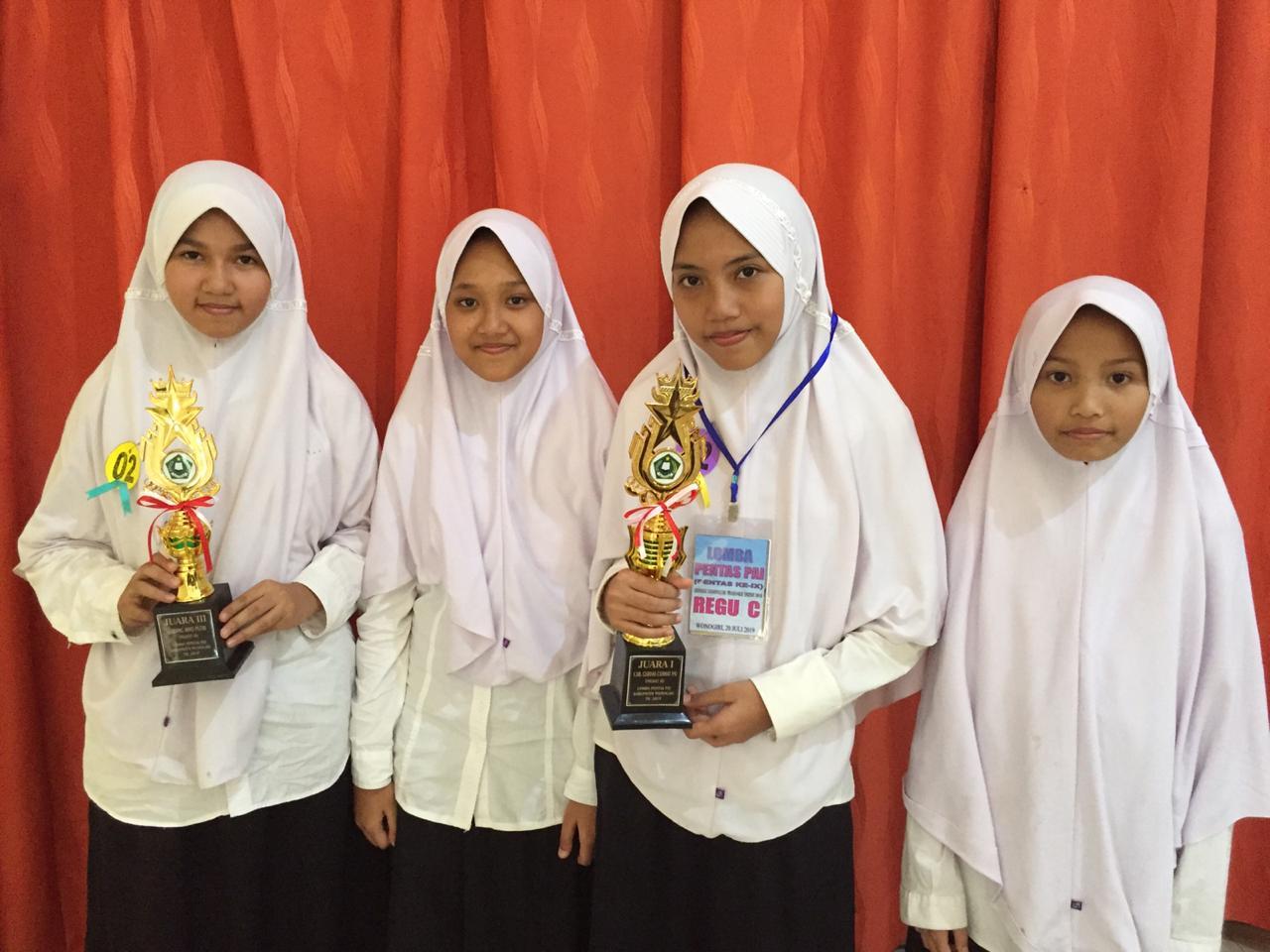 Juara Pentas PAI 2019 Tingkat Kabupaten Wonogiri