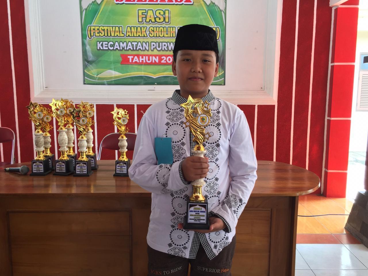 Juara 1 Pidato Putra