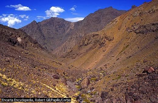 Rentang Atlas Tinggi, Maroko