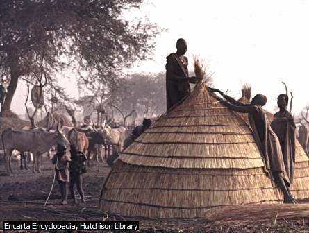 Rumah Jerami di Kenya