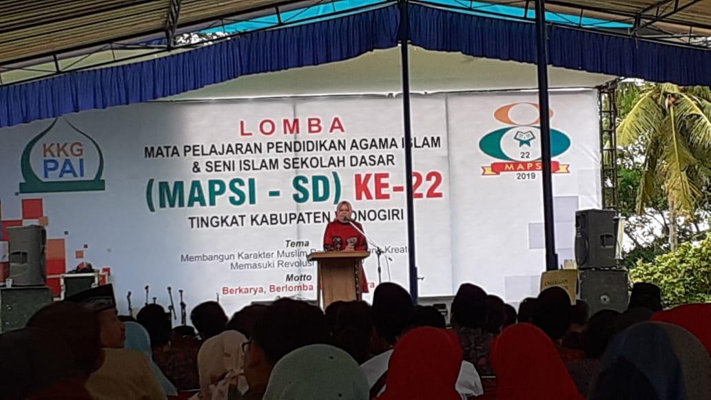 MAPSI XXII Tingkat Kabupaten Wonogiri
