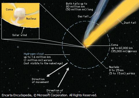 Struktur Komet