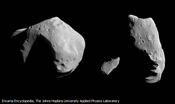 Tiga Asteroid