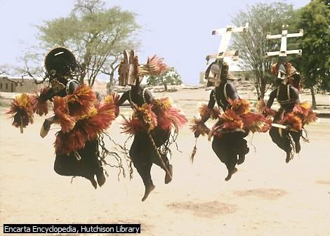 Dogon Funeral Dance