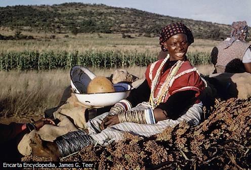Ndebele Woman, Afrika Selatan