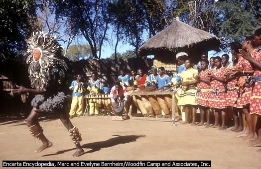 Tarian Tradisional, Zambia