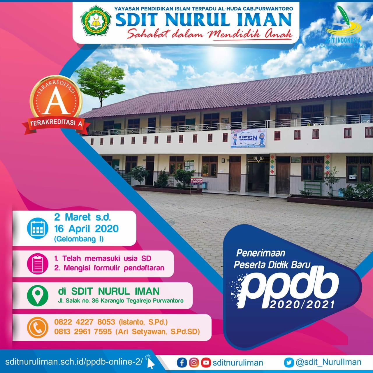 Ayo sekolah di SDIT Nurul Iman Purwantoro