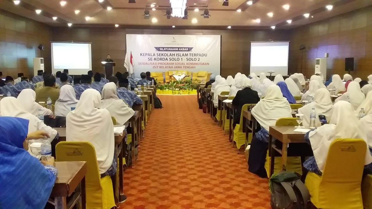 Silaturahim Akbar Kepala Sekolah Islam Terpadu Se-Korda Solo 1 - Solo 2