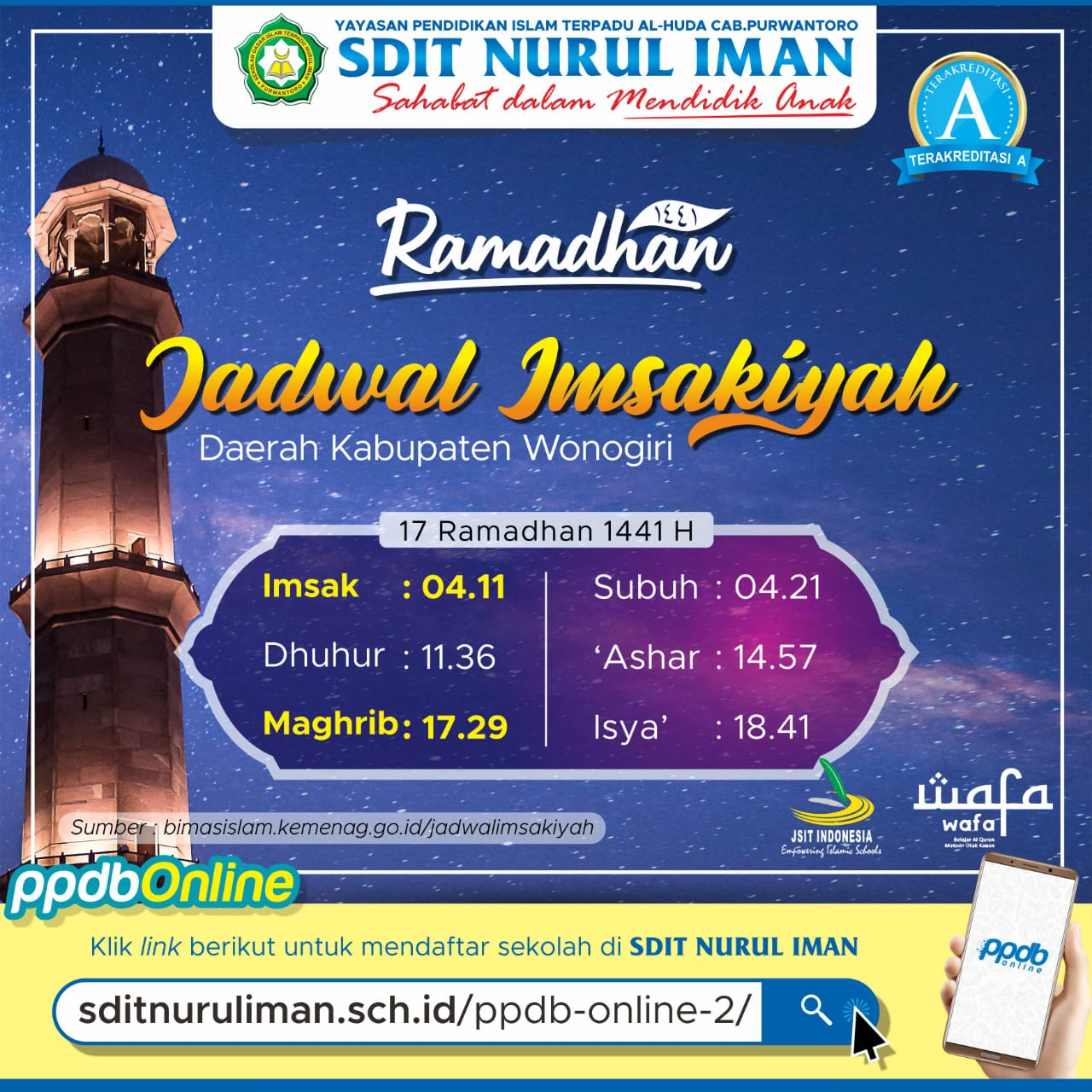 17 Ramadhan 1441 H
