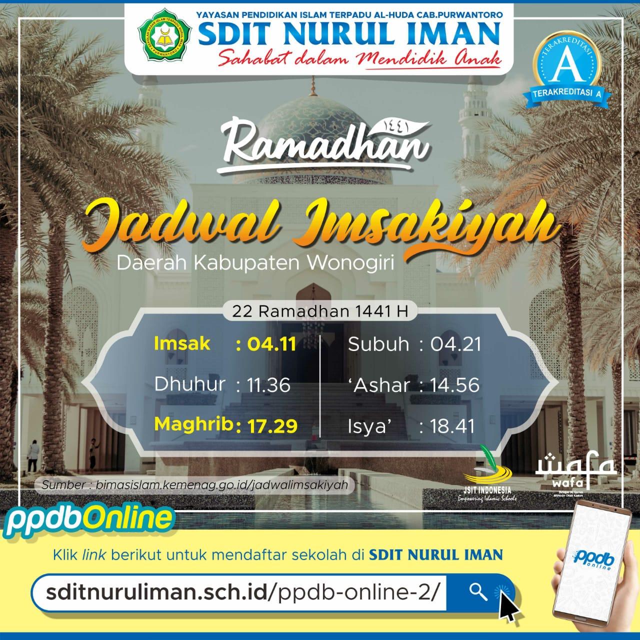 22 Ramadhan 1441 H