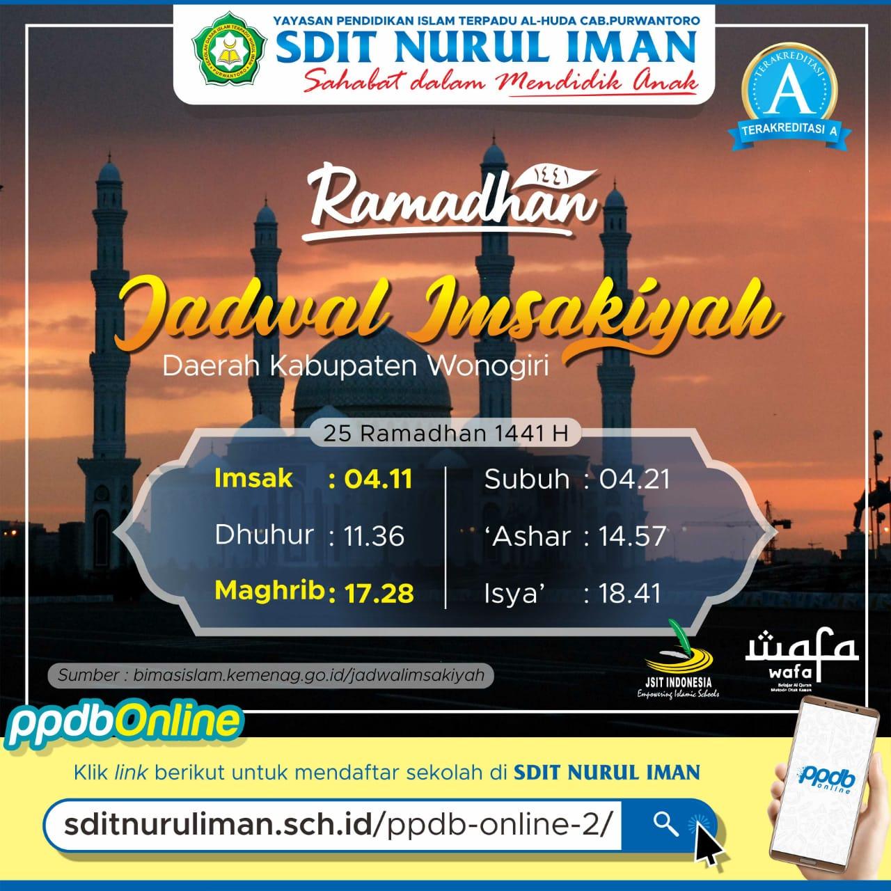 25 Ramadhan 1441 H