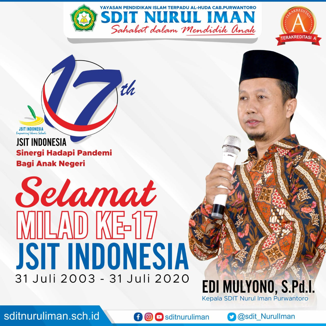 Selamat Milad Ke-17 JSIT Indonesia