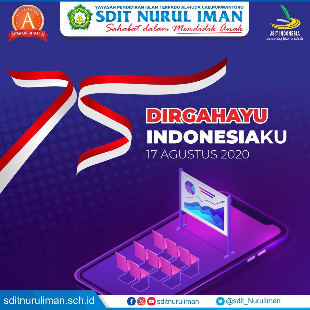 75th Dirgahayu Indonesiaku