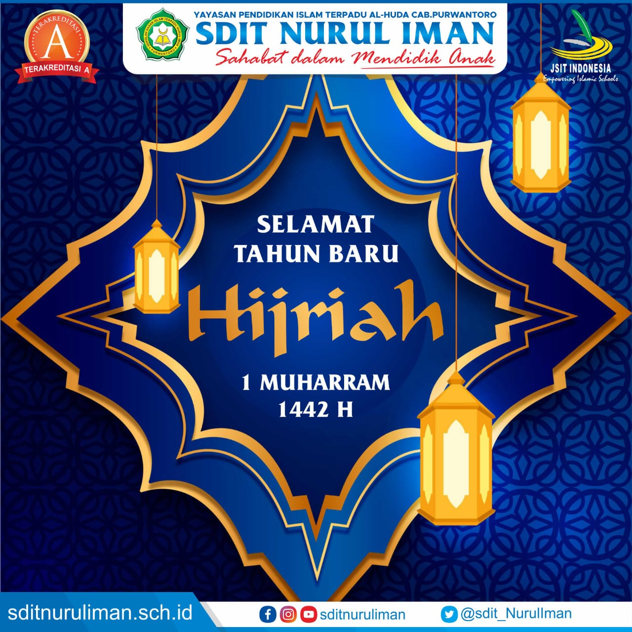 Selamat Tahun Baru Hijriah 1442 H