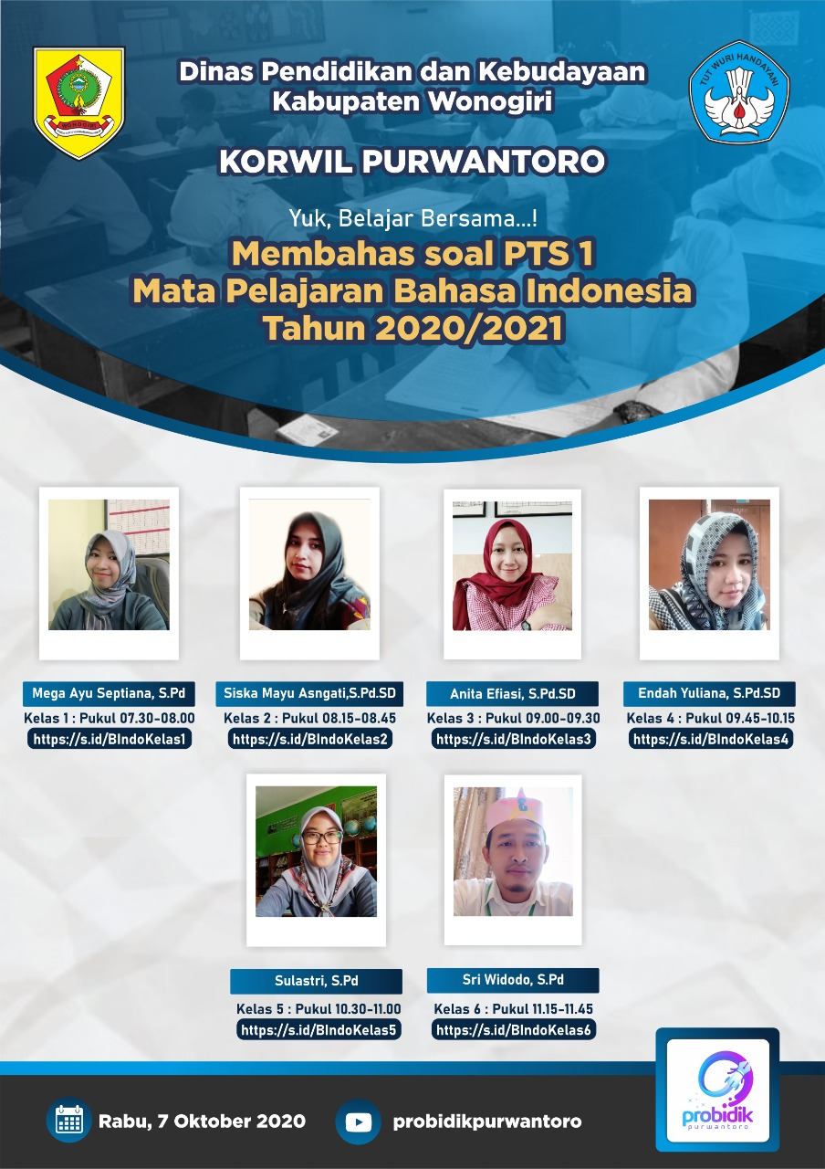 Pembahasan Soal PTS I Mapel Bahasa Indonesia
