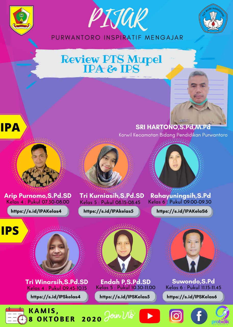 Pembahasan Soal PTS I Mapel IPA dan IPS