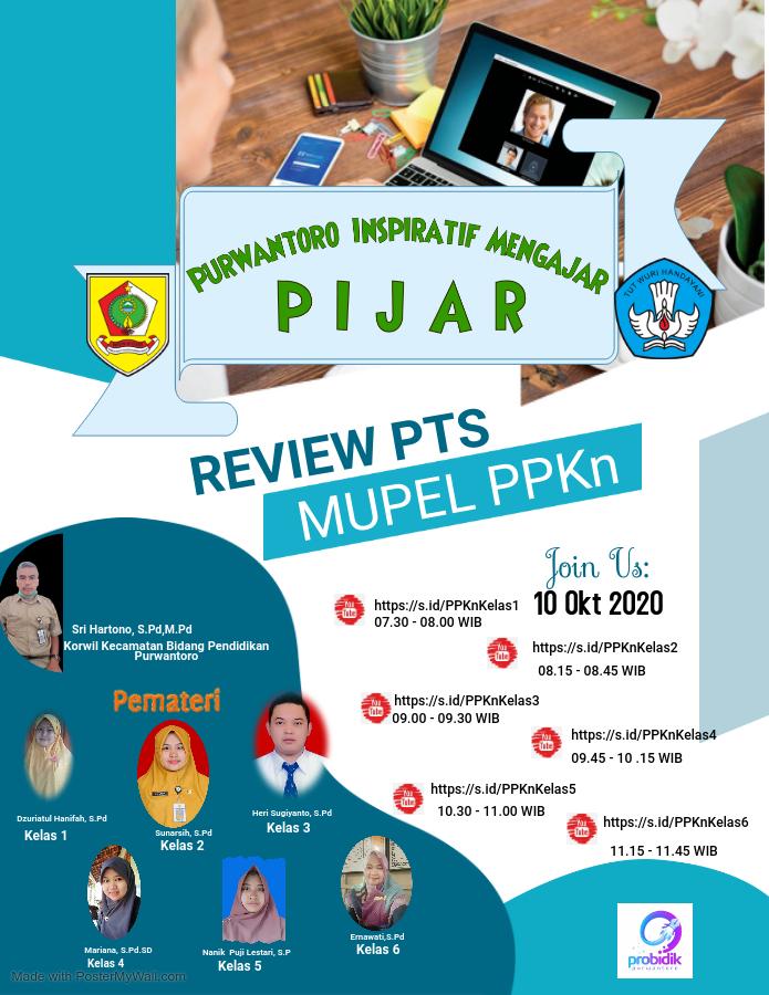 Pembahasan Soal PTS I Mapel PKn