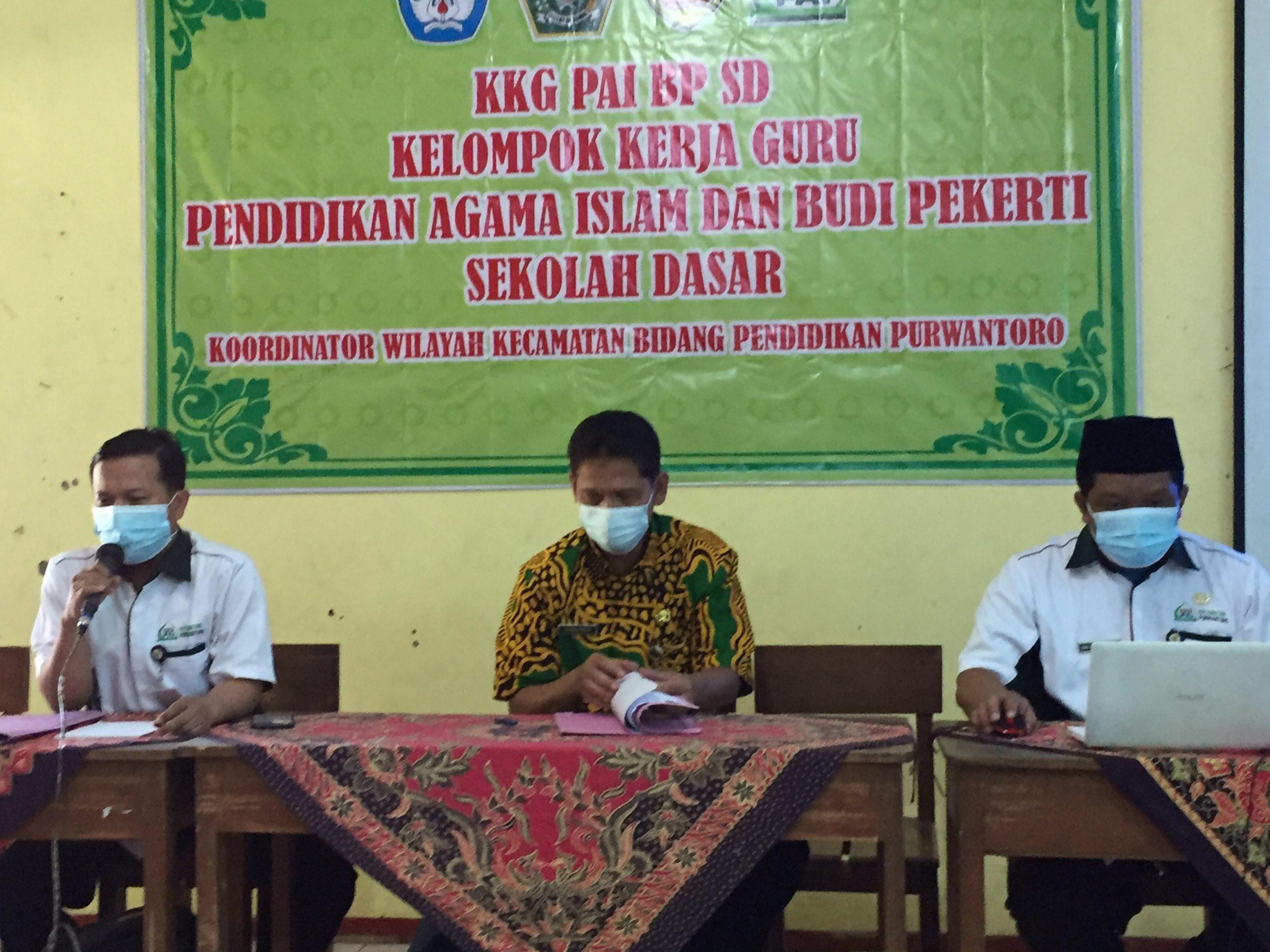 KKG PAI BP SD Koordiantor Wilayah Kecamatan Bidang Pendidikan Purwantoro