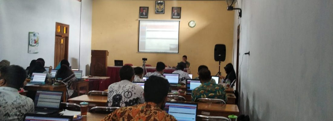 Pelatihan E-Rapor Guru Kelas