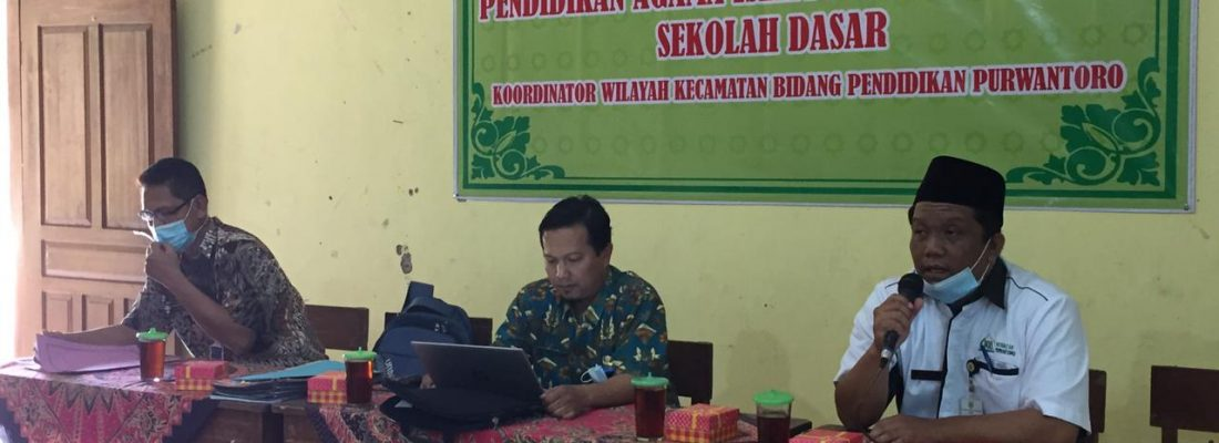 KKG PAI & BP SD Kecamatan Purwantoro